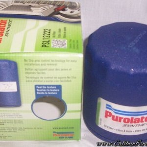 Purolator synthetic PSL12222  2nd